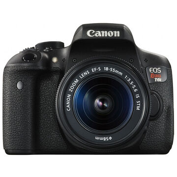 Canon Rebel T6i with 18-55mm IS STM Lens - 0591C004