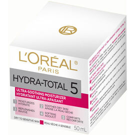 L'Oreal Hydra-Total 5 Ultra-Smoothing Moisturizer - 50ml