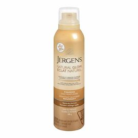 Jergens Natural Glow Foaming Daily Moisturizer - Fair to Medium - 180g