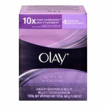 Olay Age Defying Bar Soap - 4 x 90g