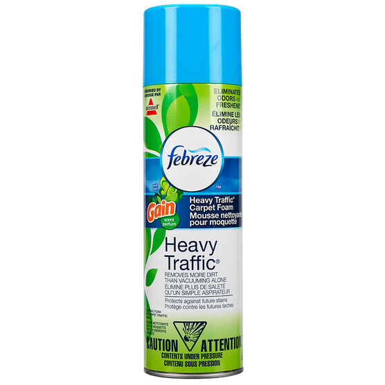 Bissell Heavy Traffic Carpet Foam with Febreze - Gain - 623g