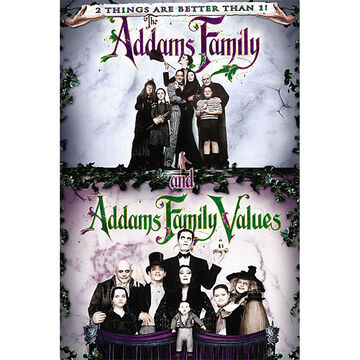 The Addams Family Double Feature: The Addams Family and Addams Family Values - DVD