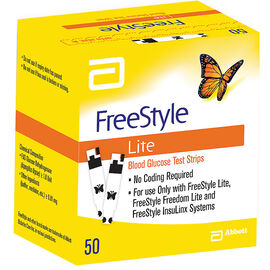 Abbott Freestyle Lite Test Strips - 50's