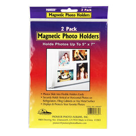 Pioneer Magnetic 5x7in Photo Holder - 2 pack - 5x7in