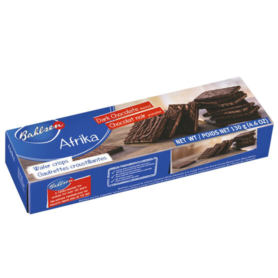 Bahlsen Afrika Dark Chocolate Wafer - 130g