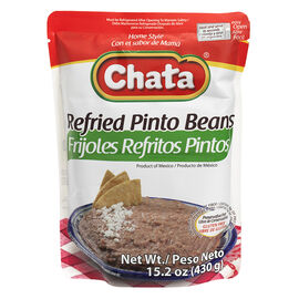 Chate Refried Pinto Beans - 430g
