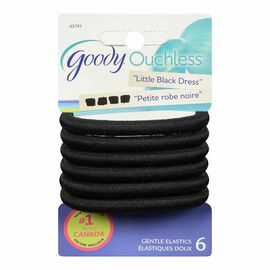 Goody Ouchless Elastics - Black