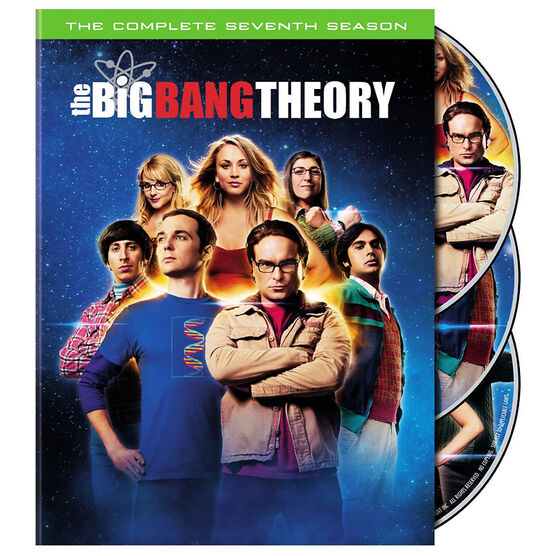The Big Bang Theory: The Complete Seventh Season - DVD