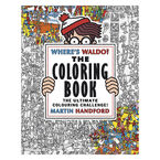 Where's Waldo? Colouring Book