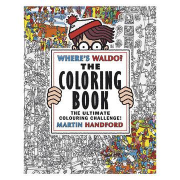 Where's Waldo? Colouring Book