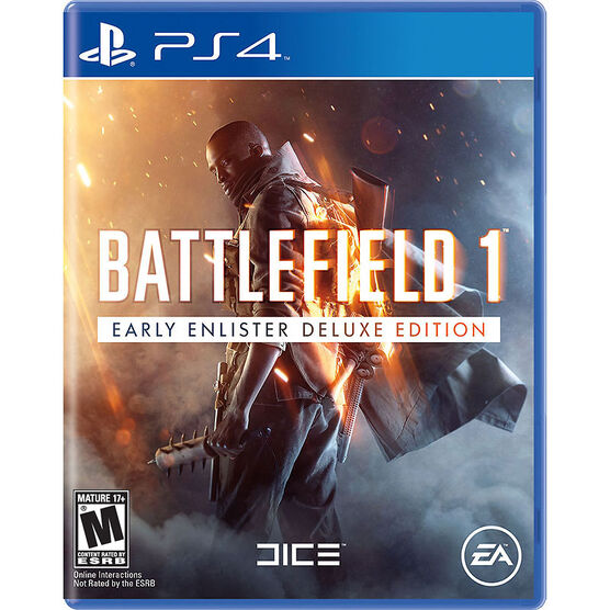 PS4 Battlefield 1 Deluxe Edition