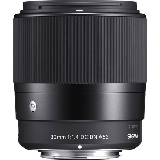 Sigma Contemporary 30mm 1.4 DC DN Lens for Micro Four Thirds - C30DCDNMFT