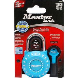 Master Lock Precision Combination Padlock - Assorted - 45mm