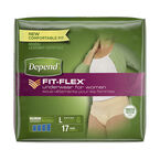 Depend Underwear for Women - Maximum Absorbency - Large - 17's