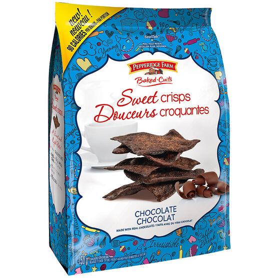 Pepperidge Farm Sweet Crisps - Chocolate - 150g