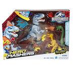 Hero Mashers Jurassic World Indominus Rex vs. Velociraptor Mash Pack