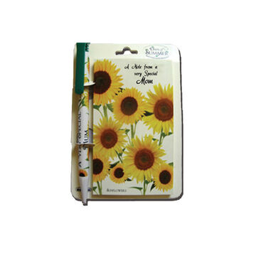 Days of Summer Pen and Notepad