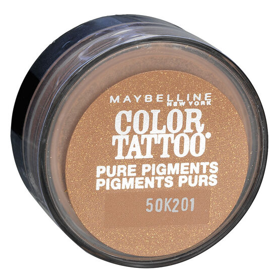 Maybelline Eye Studio Color Tattoo Pure Pigments Loose Powder Eyeshadow - Buff and Tuff