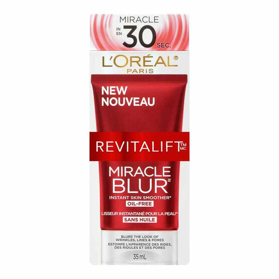 L'Oreal Revitalift Miracle Blur - Oil Free - 35ml