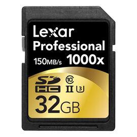 Lexar Professional 1000X - 32GB SDHC - LSD32GBCRBNA1000