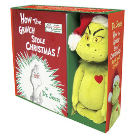 How the Grinch Stole Christmas with Plush by Dr. Seuss