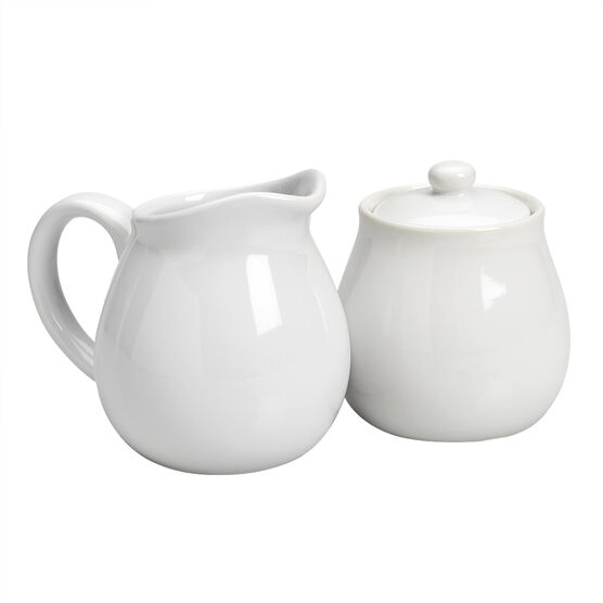 Kitchen Style Cream and Sugar Set - 2 piece - Assorted