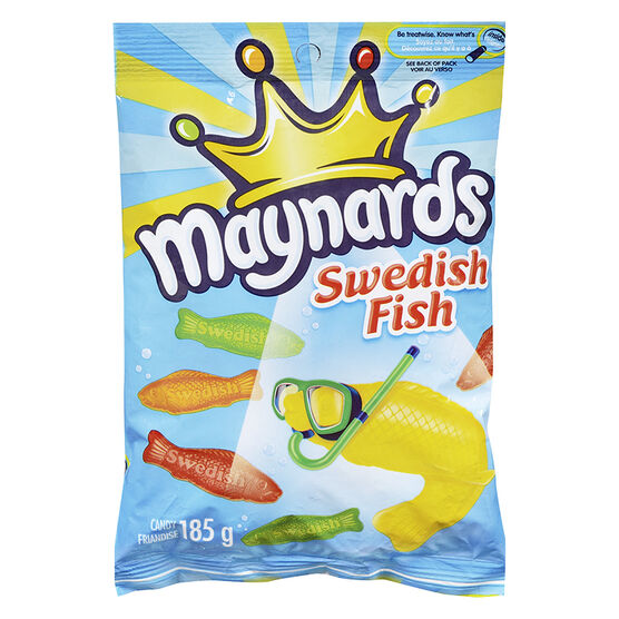 Maynards swedish fish assorted 185g london drugs for Assorted swedish fish