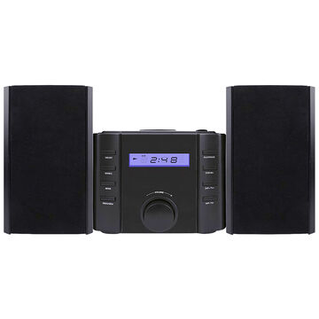 Sylvania Bluetooth Micro Speaker System - Black - SRCD804BT