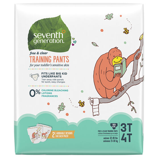 7th Generation Training Pants - 3T/4T - 25's