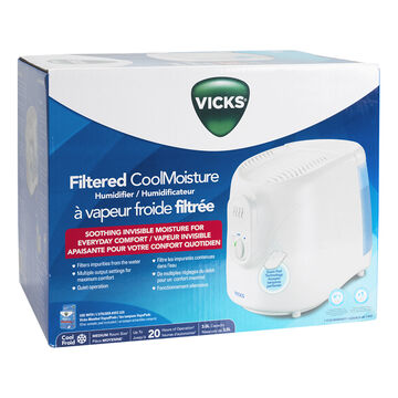 Vicks Cool Moisture Humidifier - VEV320C
