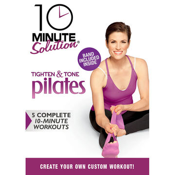 10 Minute Solution: Tighten & Tone Pilates W Band - DVD