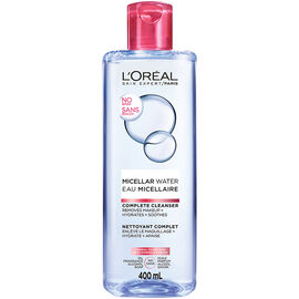 L'Oreal Micellar Water Complete Cleanser - Normal to Dry Skin - 400ml