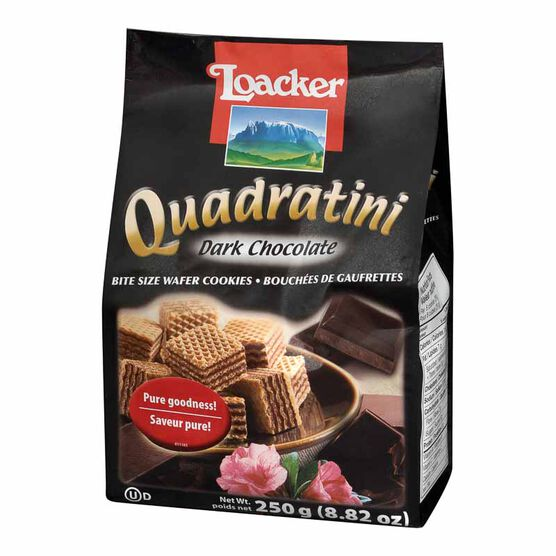 Loacker Quadratini - Dark Chocolate - 250g