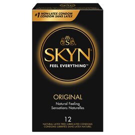 LifeStyles Skyn Lubricated Condoms - 12's