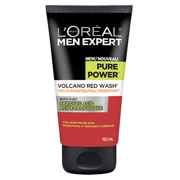 L'Oreal Men Expert Pure Power Volcano Red Wash - 150ml