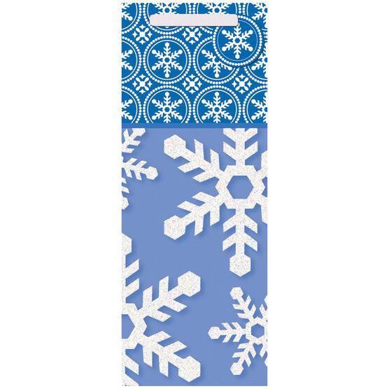 Christmas Tall Gift Bag - Snowflakes