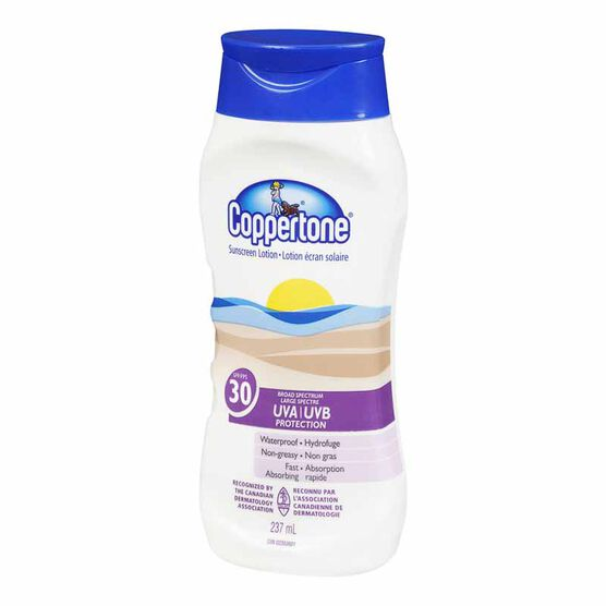 Coppertone Sunscreen Lotion - SPF30 - 237ml