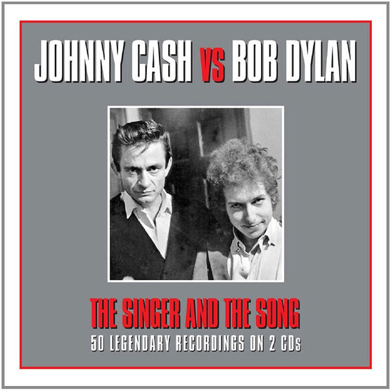 Johnny Cash vs. Bob Dylan - The Singer and The Song - 2 CD