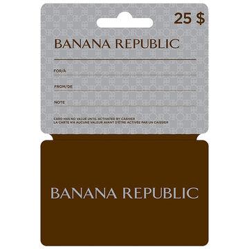Banana Republic Gift Card - $25