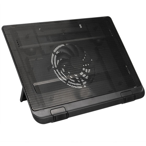 Certified Data Single Fan Laptop Cooler - Black - HY-CF-6533