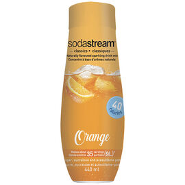 SodaStream Fountain Style Syrup  - Orange - 440ml