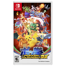 PRE ORDER: Nintendo Switch Pokken Tournament - HACPBAAYA