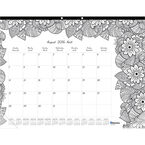 Blueline Monthly Desk Pad - Large