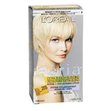L'Oreal Feria Hair Colour - 205 Extra Bleach Blonde