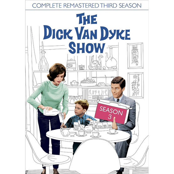 The Dick Van Dyke Show: Season Three - Remastered - DVD