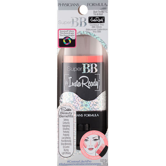 Physicians Formula Super BB InstaReady Contour Trio Stick - Blush Trio