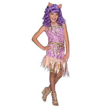 Halloween Clawdeen Wolf Costume - Large