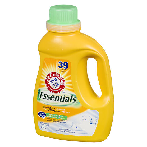 Arm & Hammer Essentials 2X Laundry Detergent - Free - 2.03L