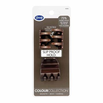 Goody Colour Collection Claw Clips - Brunette - 2 pack