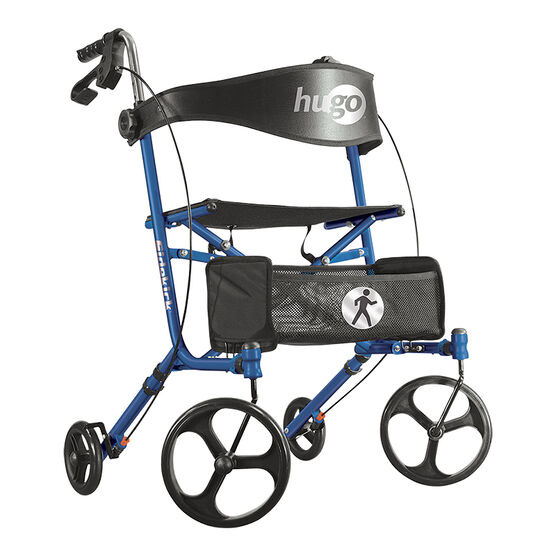 Hugo Sidekick Rollator - Blueberry